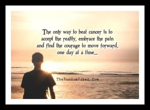 Quotes about beating cancer images