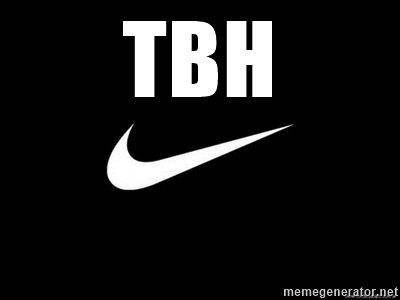TBH pictures nike for twitter