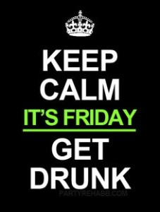 TGIF Drunk Quotes Images