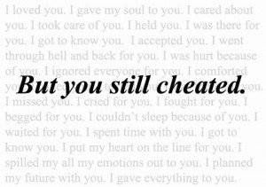 heartbreak cheating quotes images