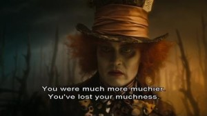 Alice in wonderland madhhatter johnny depp quotes images