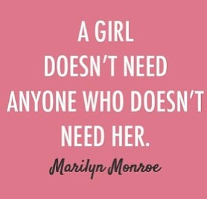 Inspiring Marilyn Monroe quotes heartbreak images