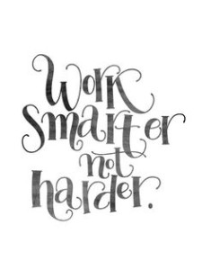 work smarter not harder quotes images