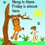 Cute Garfield Happy Thursday Work Quotes