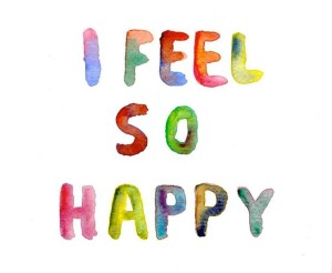 I feel so happy quotes images
