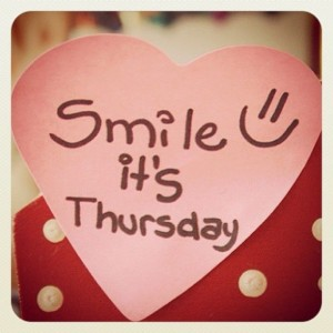 Smile happy thursday quotes tumblr