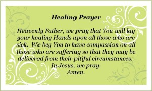 A Pray for Healing Quotes Images
