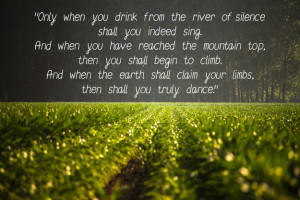 Awesome Quotes by Kahlil Gibran Imag