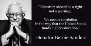 Bernie Sanders Education Quotes Images