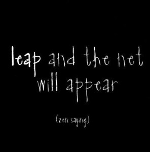 Best Leap of Faith Hope Quotes Images