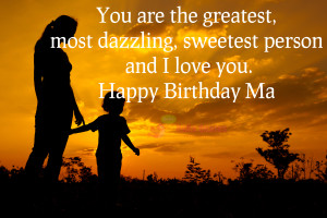 Birthday Wishes for Mom from Son Images