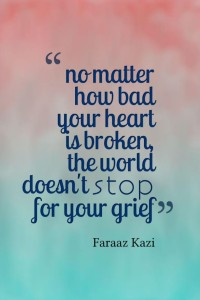Breaking Up Quotes by Faraaz Qazi Images