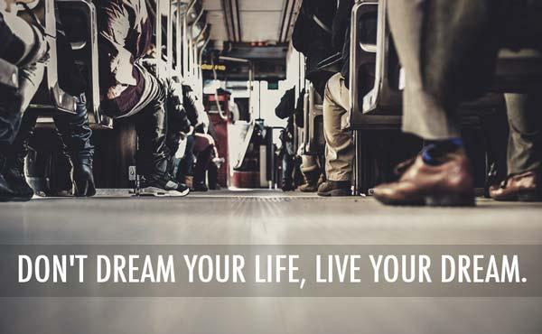 Cute Quotes about Life Dreams Images