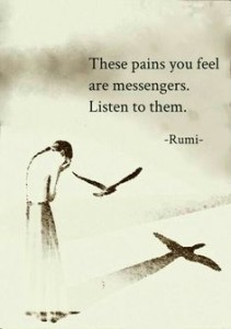 Deep Rumi Quotes on Pain Images HD