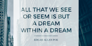 Edgar Allan Poe Dream Quotes Images