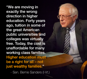 Famous Best Bernie Sanders Quotes on Education Pics