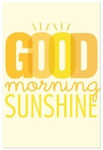 Good Morning Sunshine ECards Image