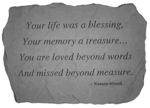 Good Quotes Message about Losing a Loved One Images