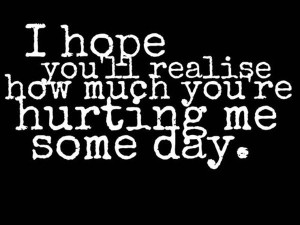Painful Hurting Me Quotes Images