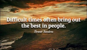 Inspirational Bernie Saders Quotes IMages