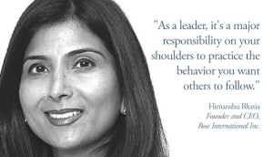 Inspiring Leadership Quote by Himanshu Bhatia Images
