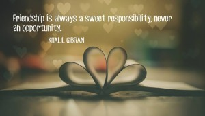 Khalil Gibran Friendship Quotes Images