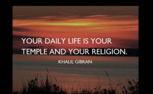 KhalilGibran Quotes Religion picture