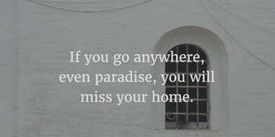 Missing Sweet Home