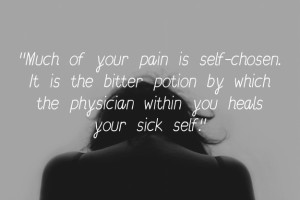 Pain Quotes by Kahlil Gibran