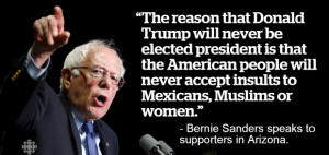Powerful Bernie Sanders Quotes about Trump Images