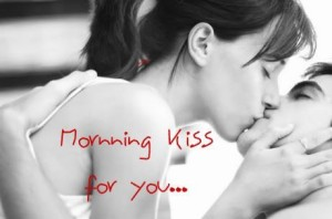 Romantic Kiss Good Morning Cards Images