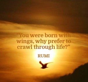 Rumi Inspirational Quotes Images
