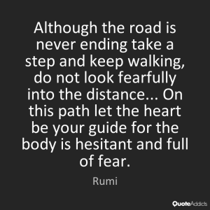 Rumi Quotes Keep Walking images facebook