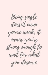 Short meaningful quotes about being Single pictures