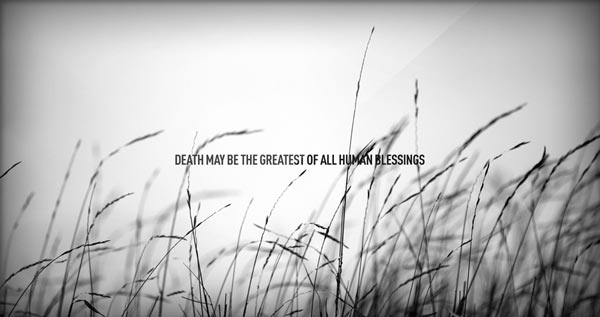 Thoughtful Quotes about Life & Death Images