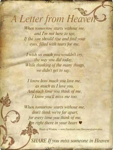 Very Touching Poem quotes about losing a loved one images