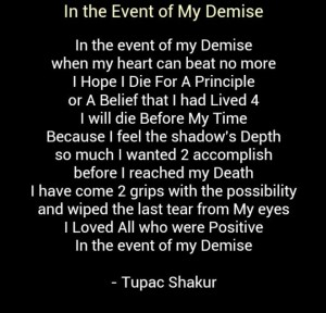 cute Tupac Quotes Poems pictures