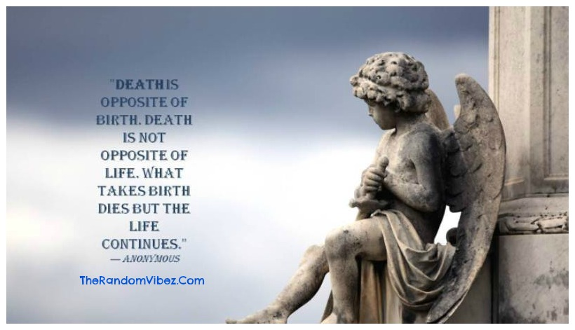 Wise Quotes about Death Images