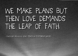leap of faith christian quotes image