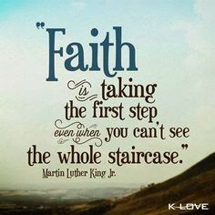 leap of faith quotes by martin luther king images