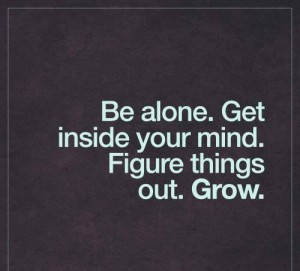 Deep Alone Grow Up Quotes Images