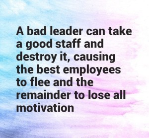 Bad Leadership Quotes Images