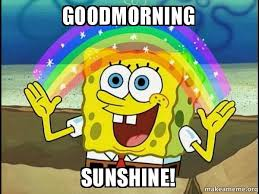 Best Good Morning Sunshine Meme Images