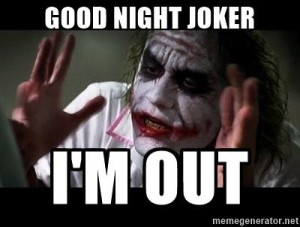Creepy Goodnight Meme Joker IMages