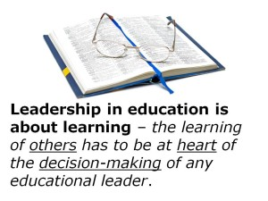 Educational Leadership Quotes Photos