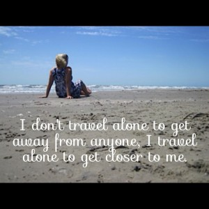 First Time Traveling Alone Quotes