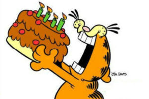 Funny Garfield Happy Birthday Meme