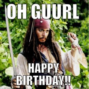 Funny Happy Birthday Memes for Her