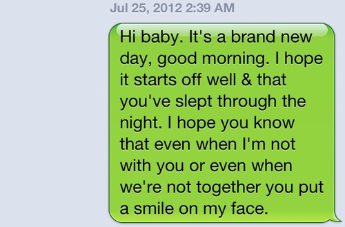 Text for morning your good girlfriend sweetest the 47 Best
