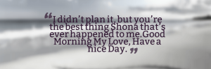 Have a Great Day Text Messages Facebook Cover